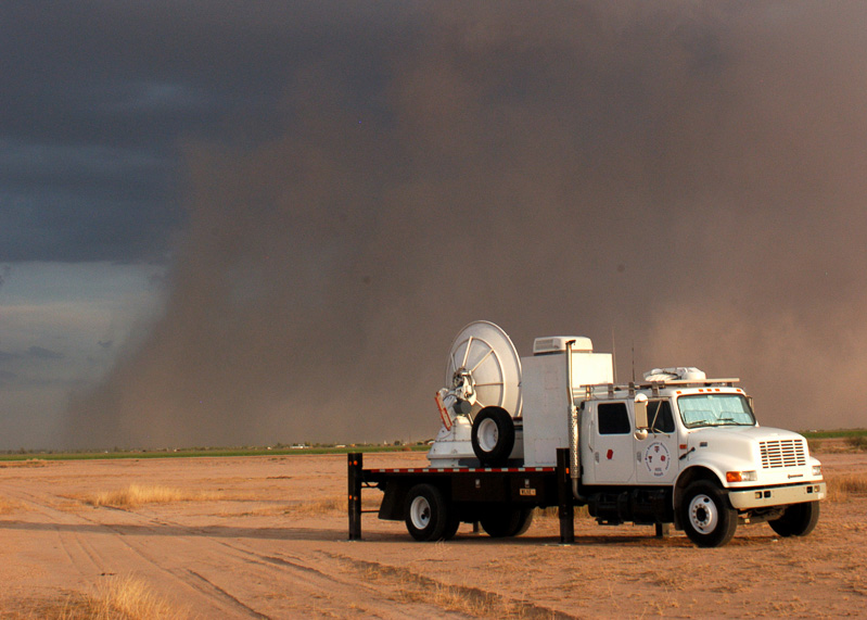 SMART-R observing haboob in Arizona