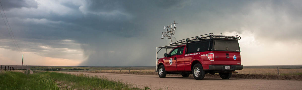 Mobile mesonet in the field