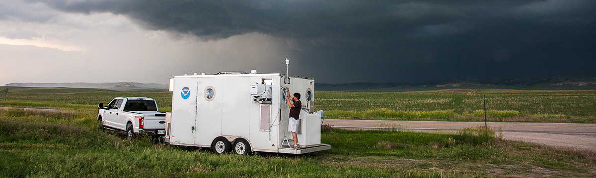 Researchers in the Hazardous Weather Testbed